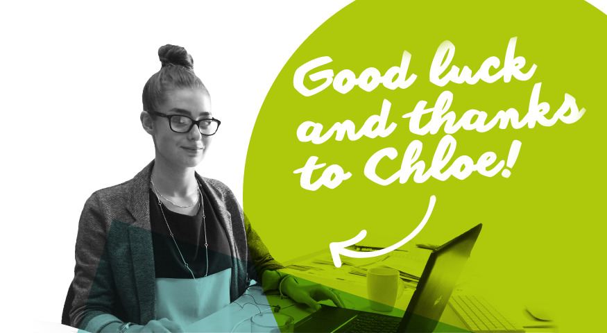 Communications, Deutsche and Dark Chocolate… good luck and thanks to Chloe!