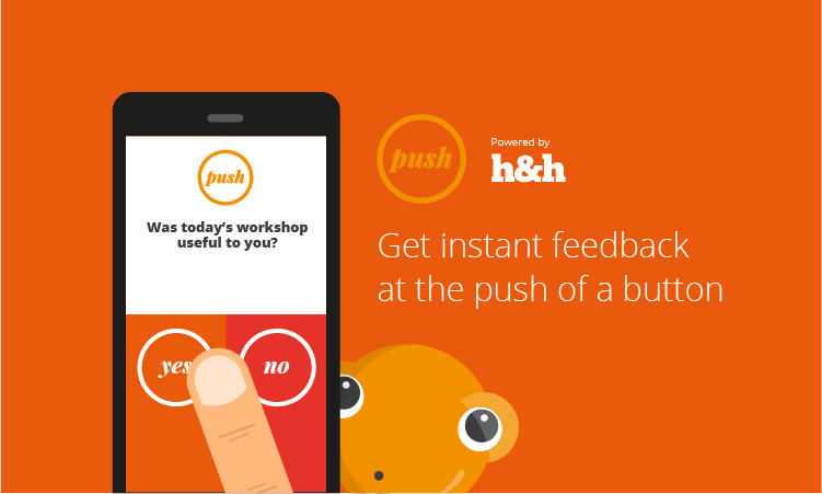 Push - the instant measurement tool developed by H&H