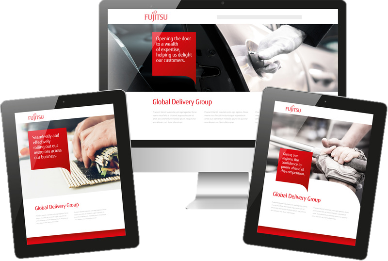Internal Comms Case Study: Fujitsu's Global Delivery Group narrative comms