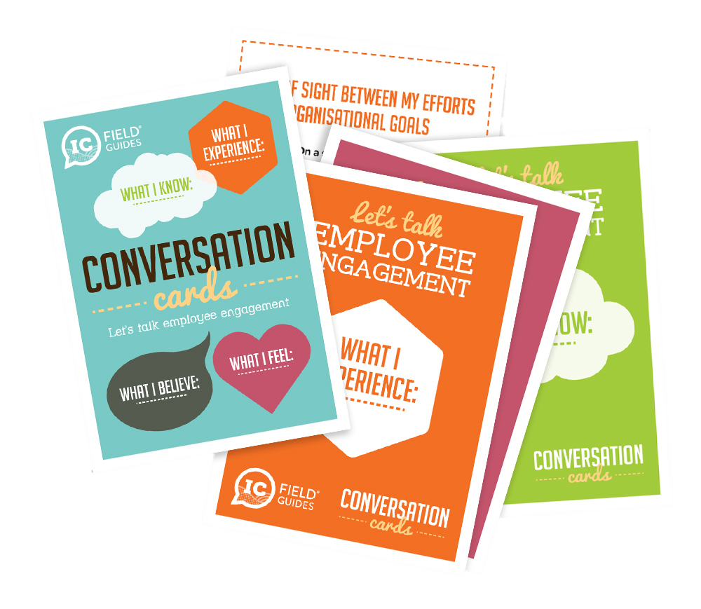 Employee Engagement Conversation Cards by H&H - UK leaders in internal comms and Employee Engagement