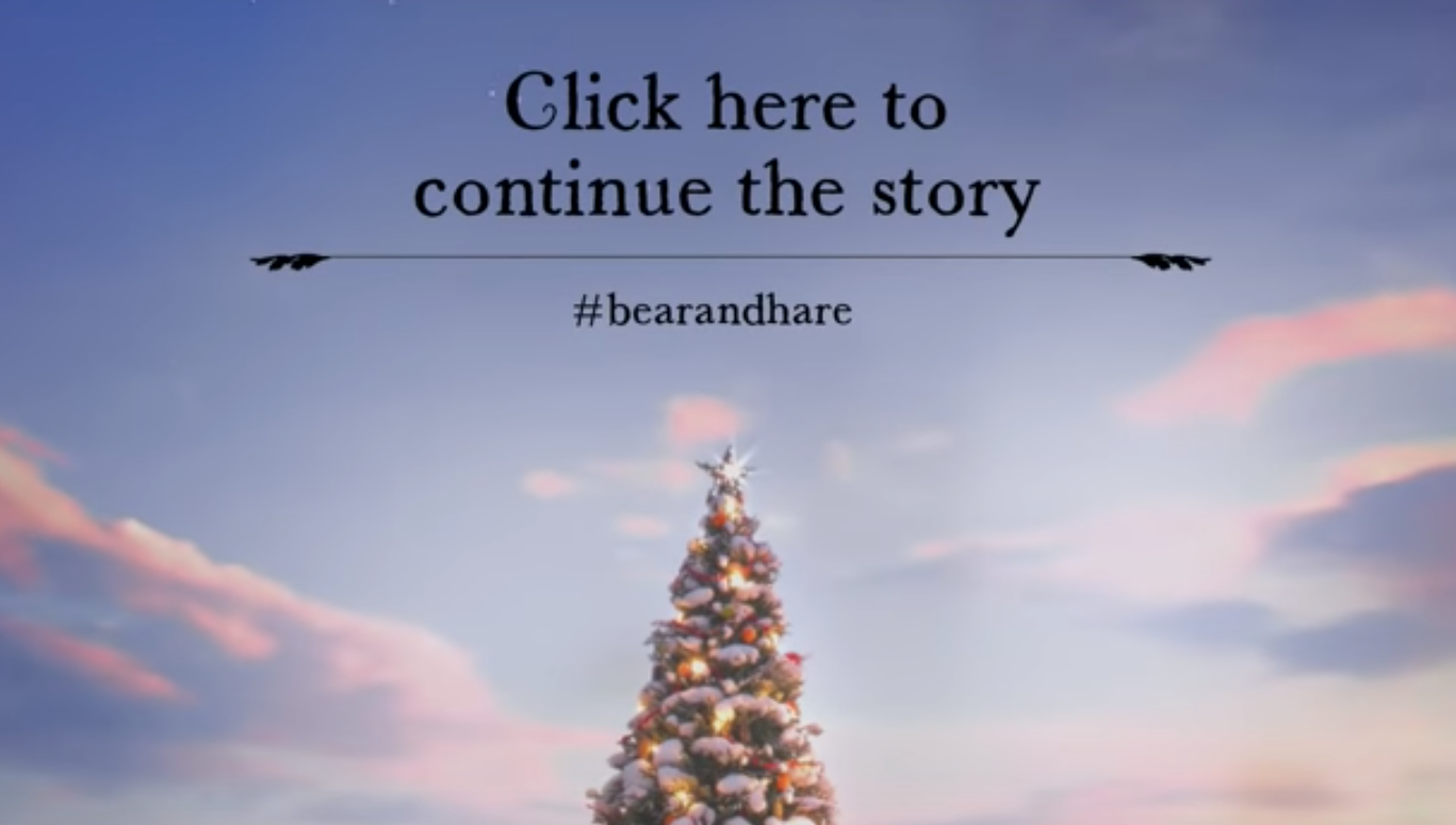 Internal comms ideas: John Lewis Christmas advert 2013 'The Bear and the Hare'