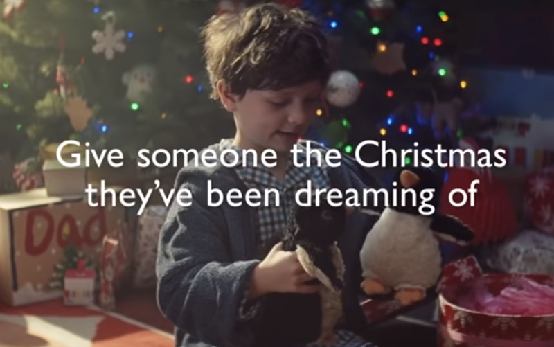 Internal comms ideas John Lewis Christmas advert 2014 'Monty the Penguin'
