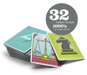 Internal comms best practice product: storytelling cards