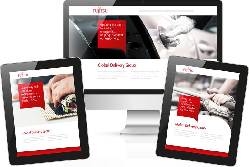 content Fujitsu GDG Digital Screens