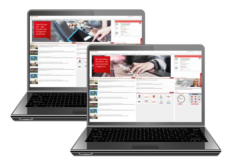 content Fujitsu GDG Portal Screens