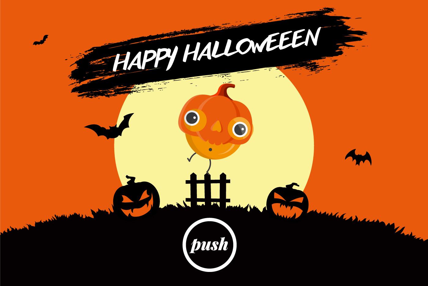Push Halloween Offer Header Image