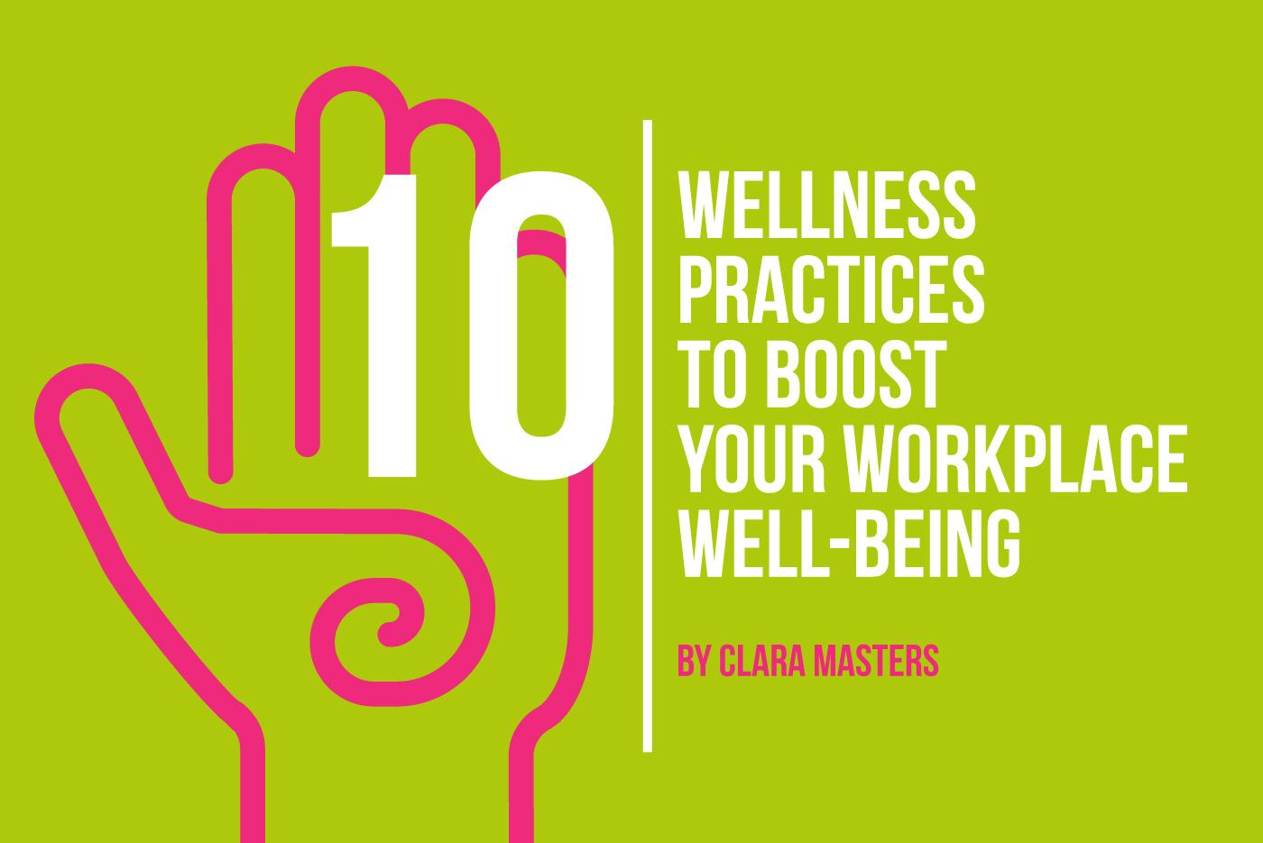 10 Wellness Practices article header