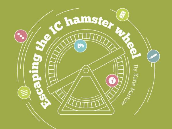 The internal comms hamster wheel