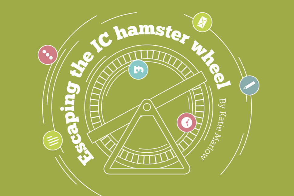 The internal comms hamster wheel