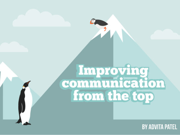 Improving communication from the top