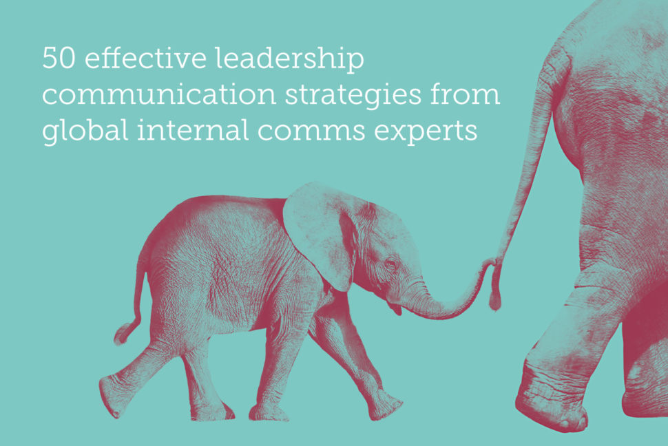 50 effective leadership communication strategies