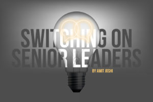 Switching on senior leaders header image