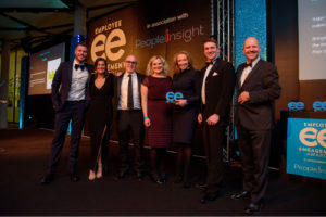 H H team recieving their ee award