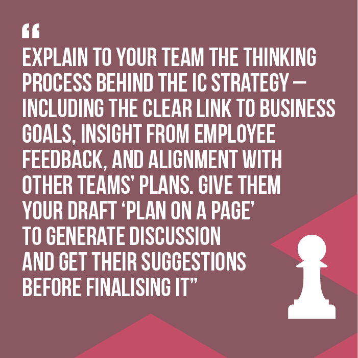 content Winning IC strategy quote 3