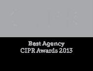 CIPR Best Agency 2013 Logo