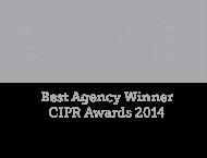 CIPR Best Agency Winner 2014 Logo