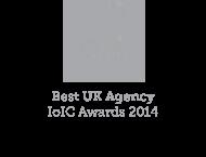 IoIC Best UK Agency 2014 Logo