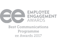 EE Best Communications Programme 2017 logo